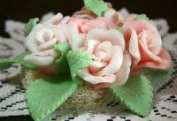 Натуральное мыло ручной работы - «Розы»