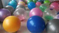 Виды гимнастических мячей для дома